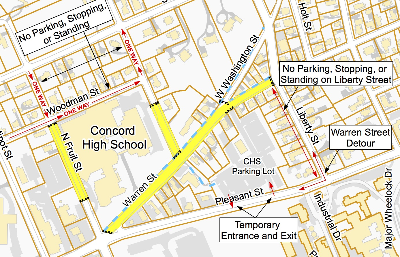 Nh Traffic Map.Traffic Changes For Concordtv Visitors Concordtv
