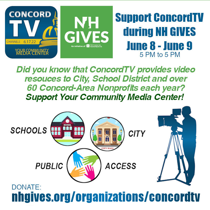 ConcordTV on NH Gives