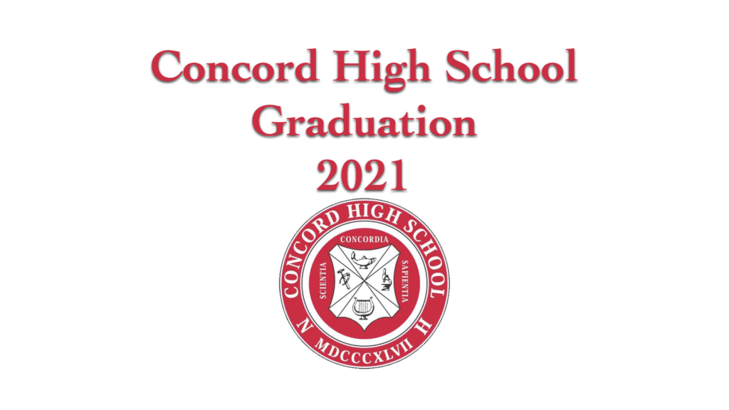 Graduation 2021 Title Slide 100