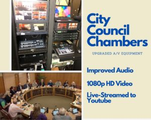 Council Chambers slide