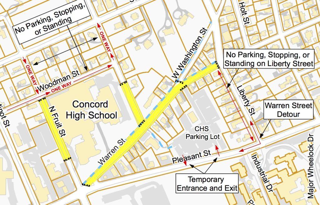 CHS Area - Temp Traffic Patterns 20180313